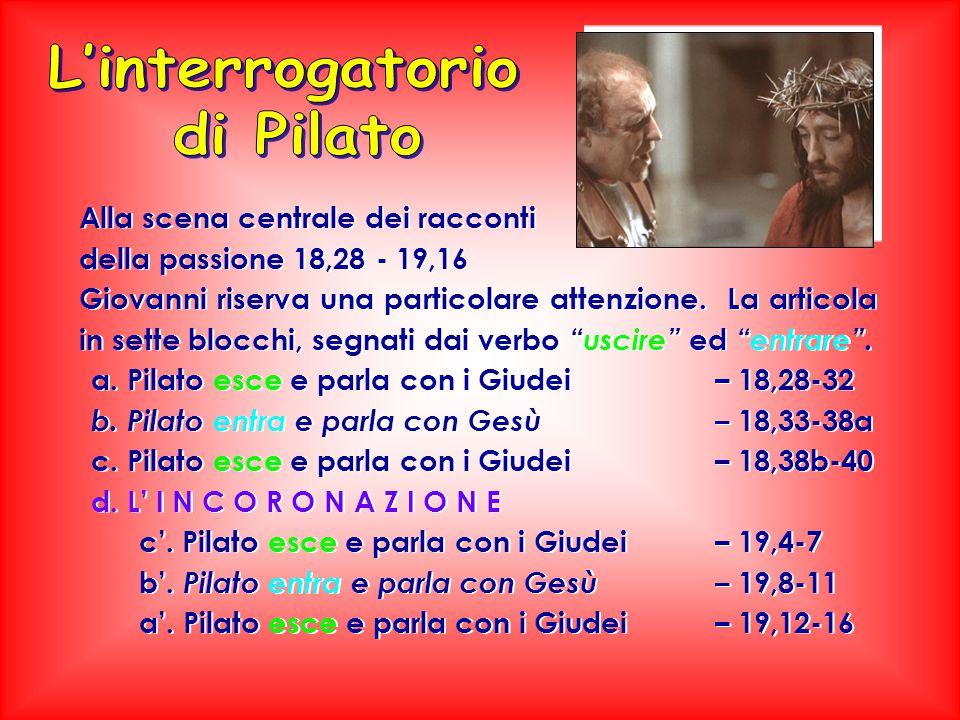 L'interrogatorio di Pilato