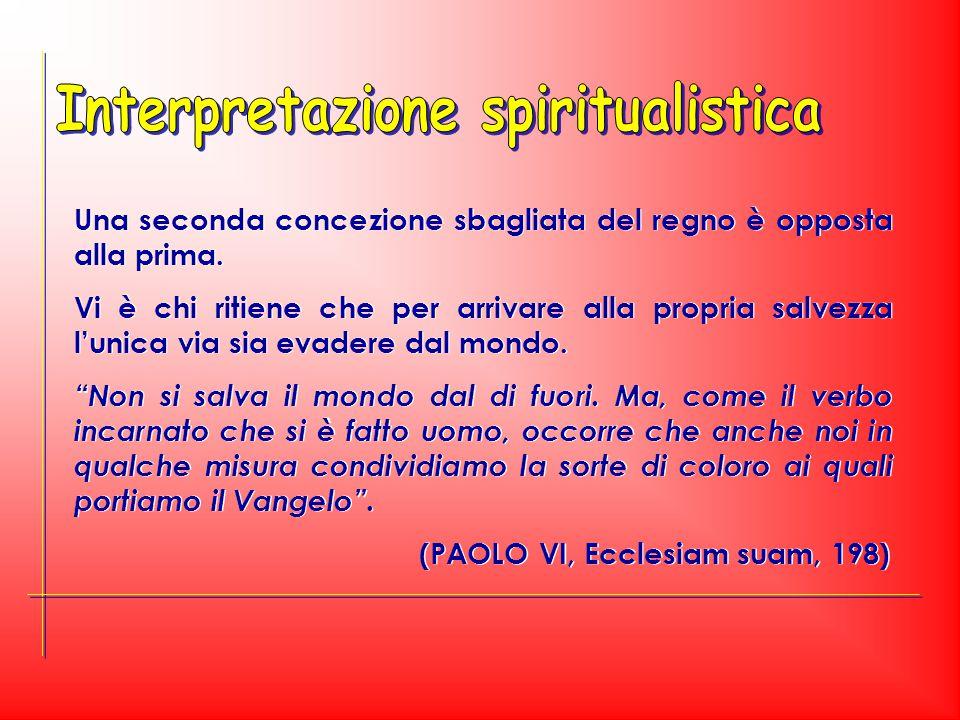 Interpretazione spiritualistica