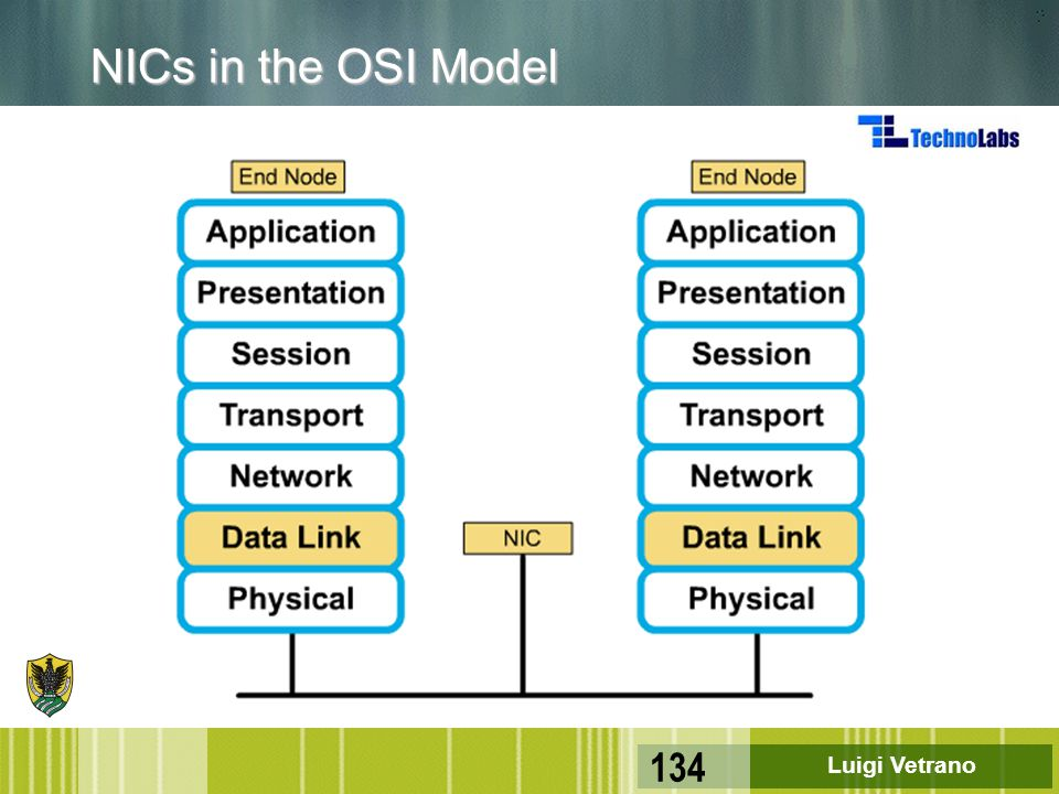 NICs in the OSI Model