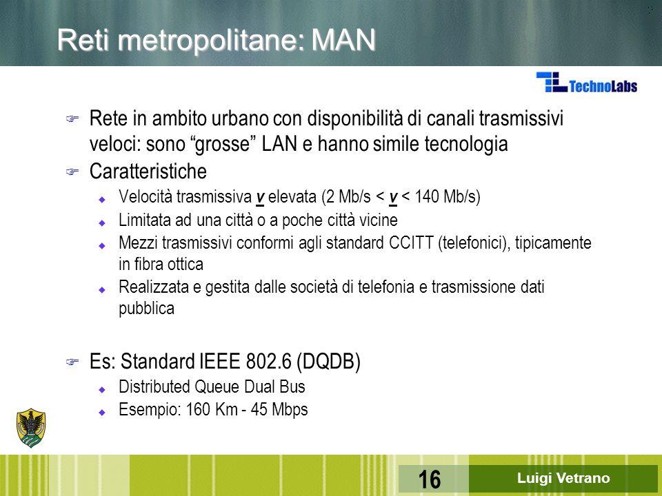 Reti metropolitane: MAN