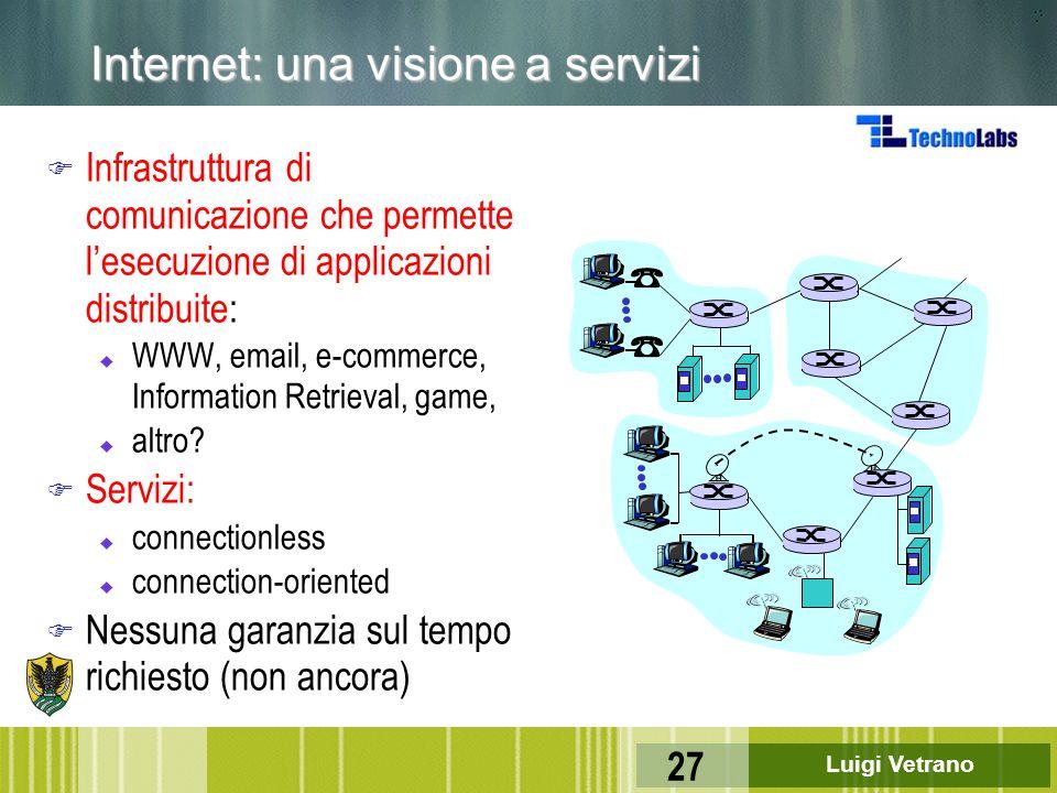 Internet: una visione a servizi