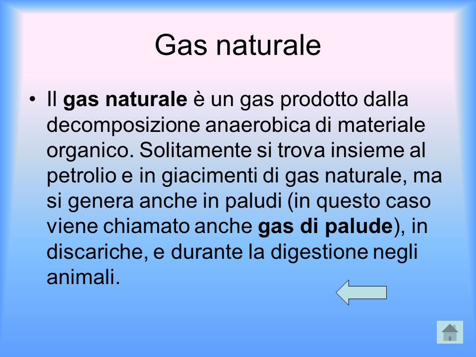 Gas naturale