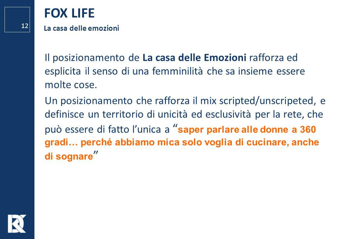 FOX LIFE La casa delle emozioni.