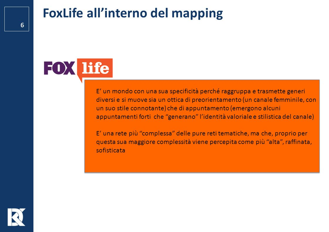 FoxLife all'interno del mapping