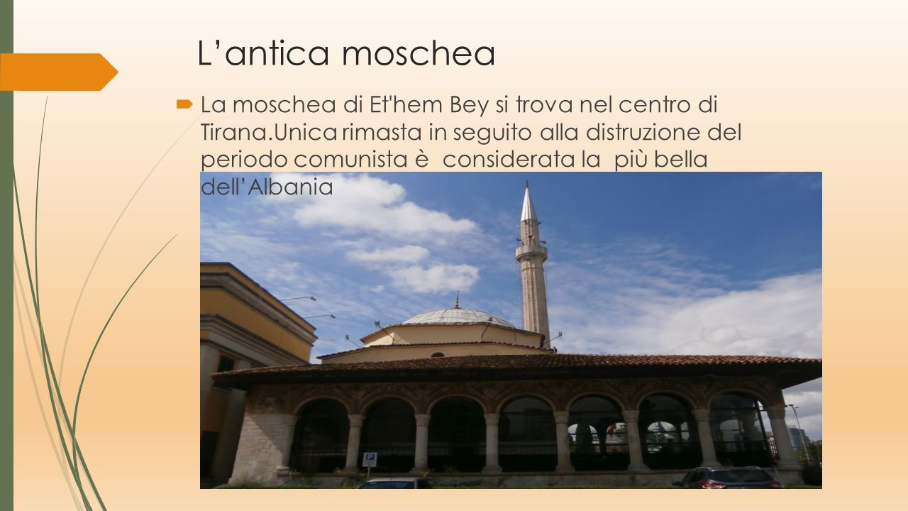 L'antica moschea