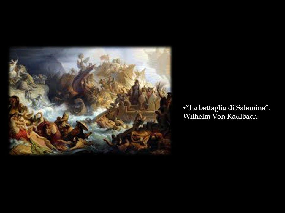 La battaglia di Salamina .