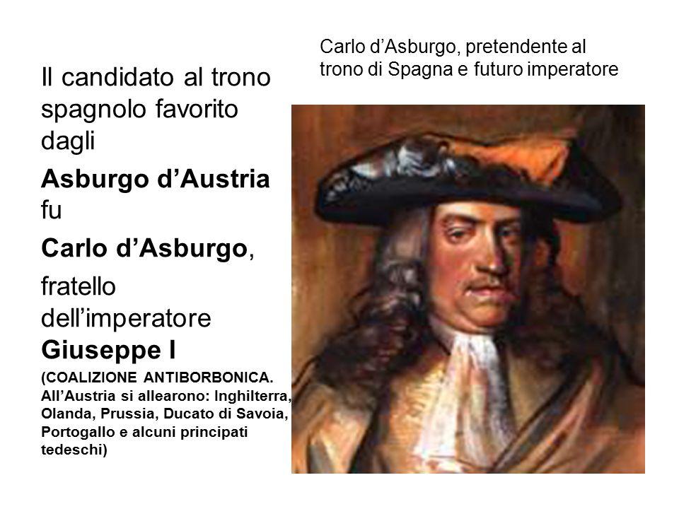 Carlo d'Asburgo, pretendente al trono di Spagna e futuro imperatore