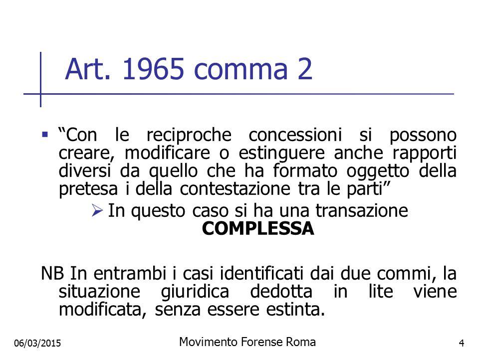 Art. 1965 comma 2