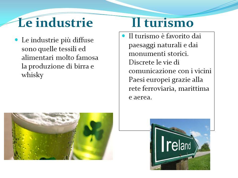 Le industrie Il turismo