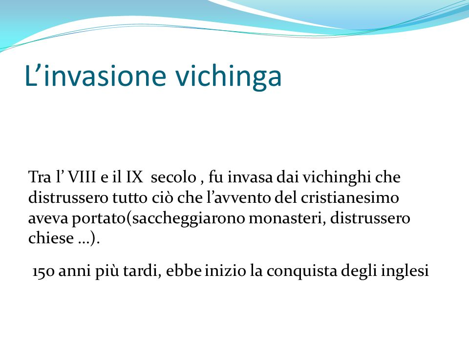 L'invasione vichinga