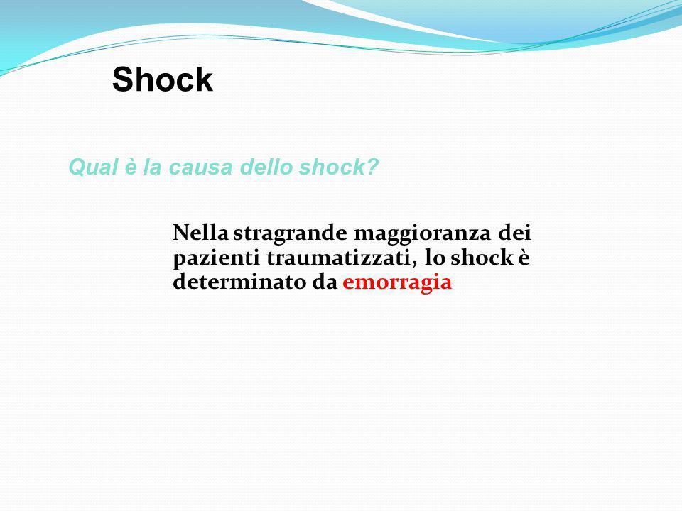 Qual è la causa dello shock