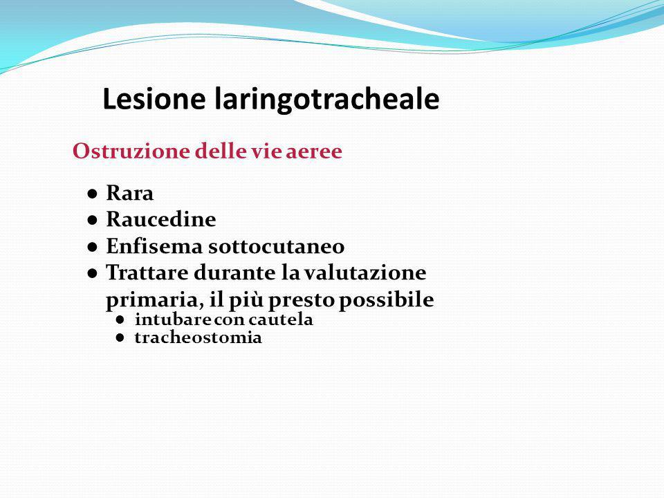 Lesione laringotracheale
