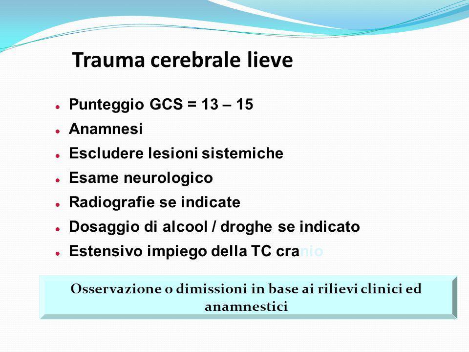 Trauma cerebrale lieve