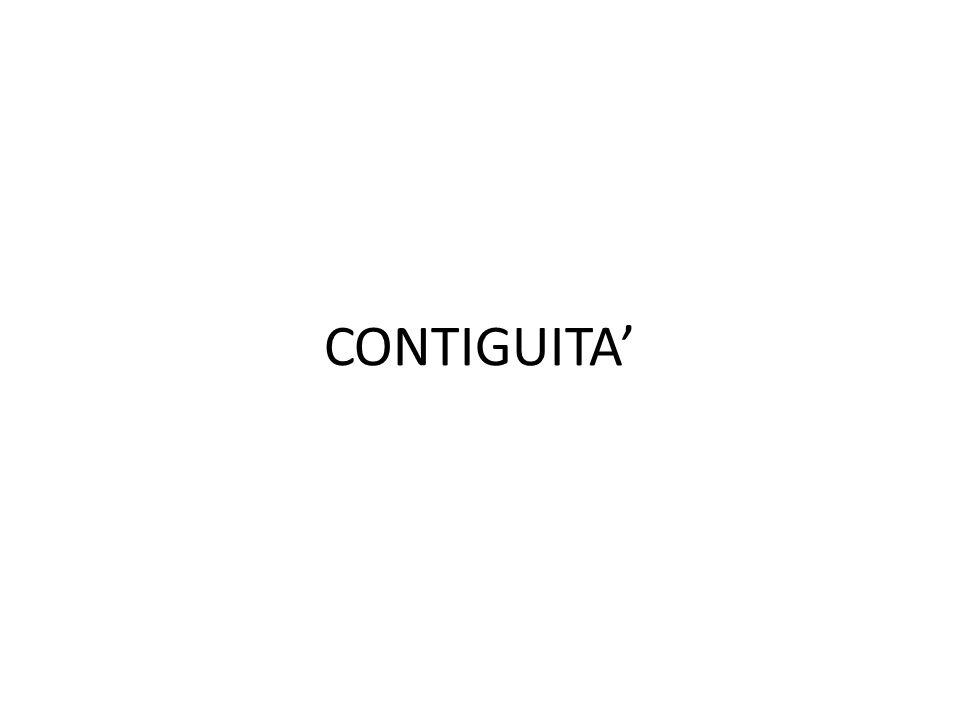 CONTIGUITA'