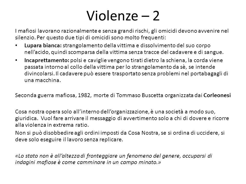 Violenze – 2
