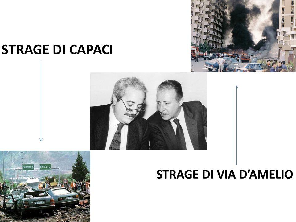 STRAGE DI CAPACI STRAGE DI VIA D'AMELIO
