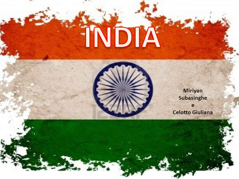 INDIA Miriyan Subasinghe e Celotto Giuliana