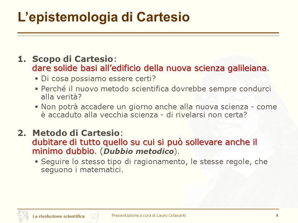 L'epistemologia di Cartesio
