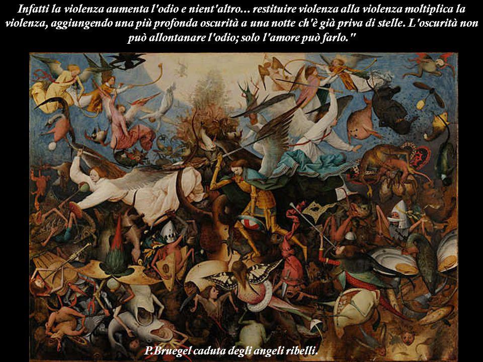 P.Bruegel caduta degli angeli ribelli.
