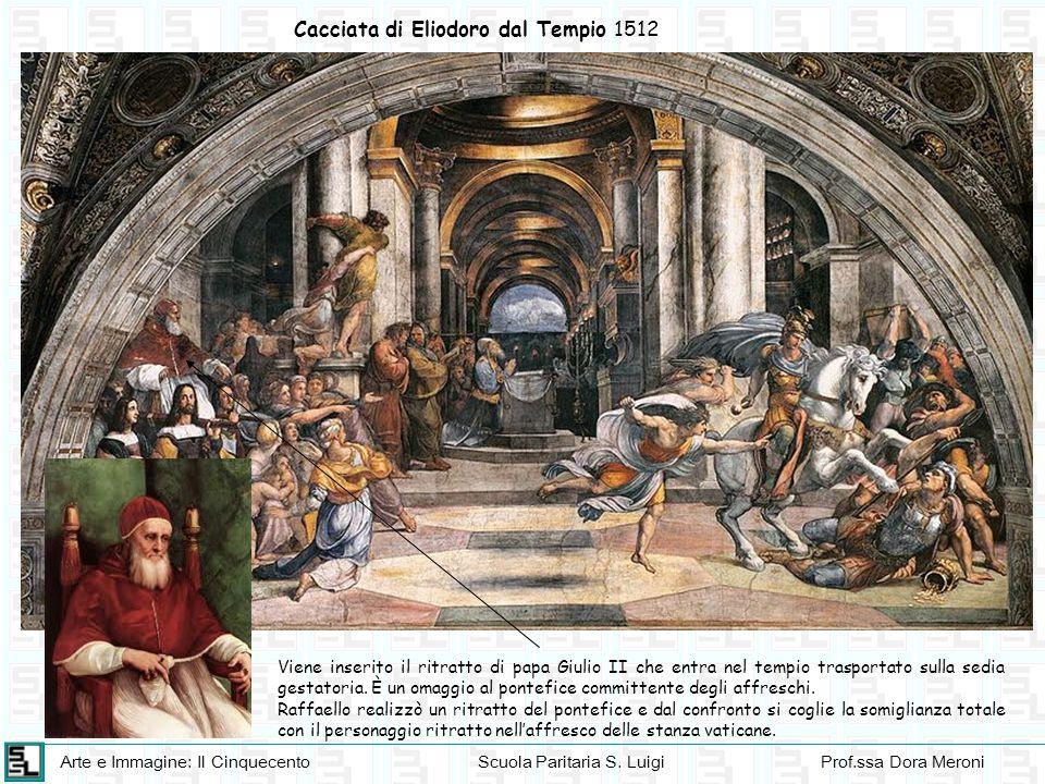 Cacciata di Eliodoro dal Tempio 1512