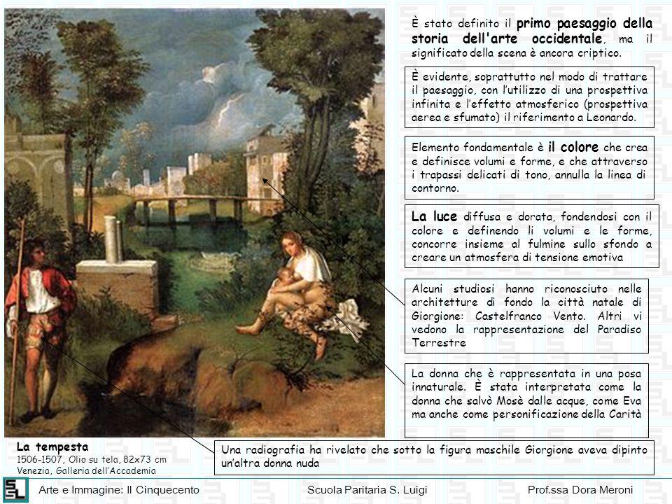 È stato definito il primo paesaggio della storia dell arte occidentale, ma il significato della scena è ancora criptico.