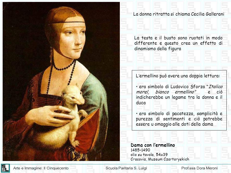 La donna ritratta si chiama Cecilia Gallerani