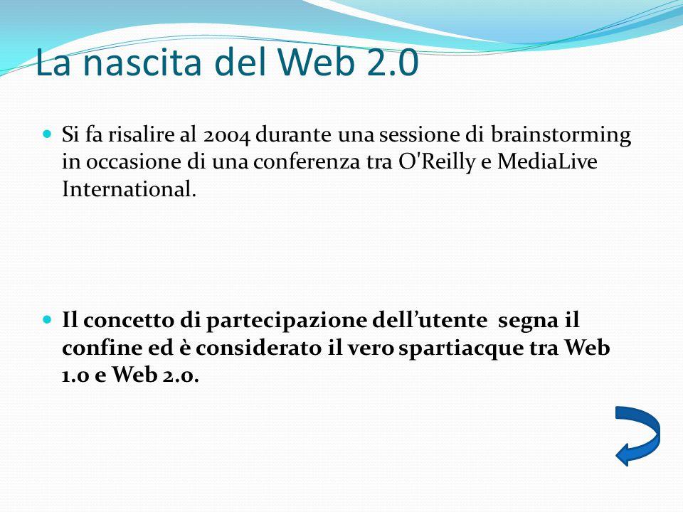 La nascita del Web 2.0