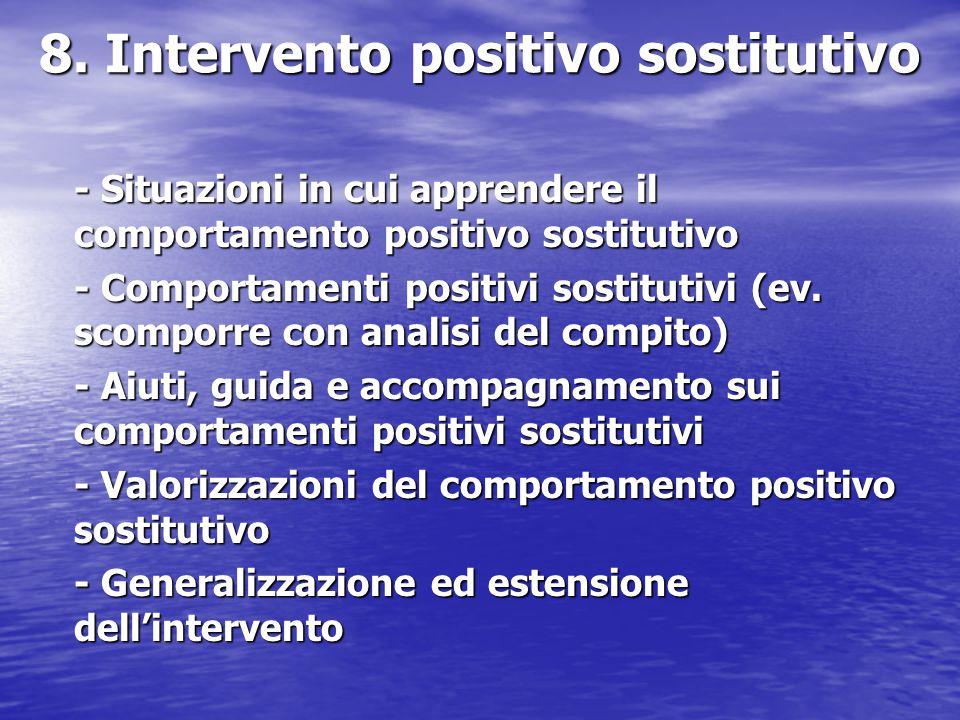8. Intervento positivo sostitutivo