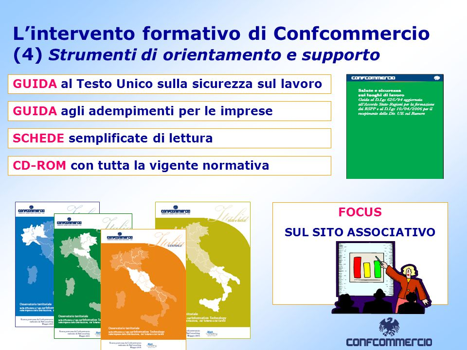 L'intervento formativo di Confcommercio (5) Comunità professionale on-line