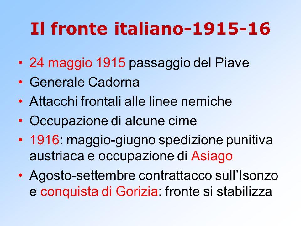 Il fronte italiano-1915-16 24 maggio 1915 passaggio del Piave