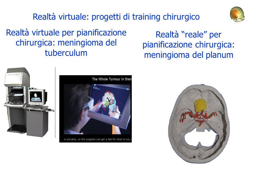 Realtà virtuale: progetti di training chirurgico