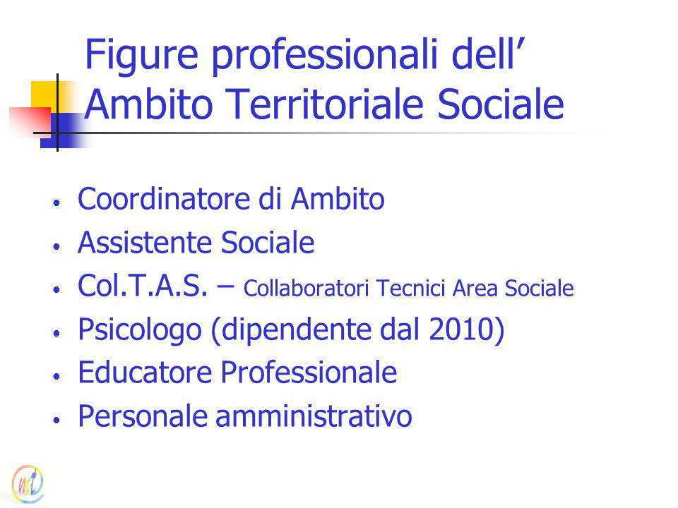 Figure professionali dell' Ambito Territoriale Sociale