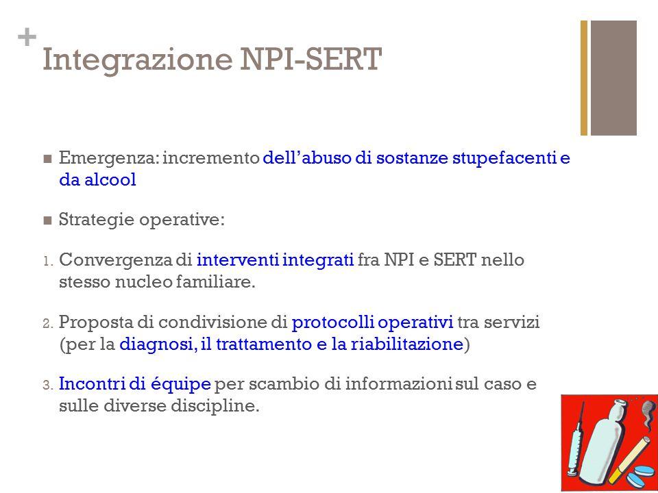 Integrazione NPI-SERT