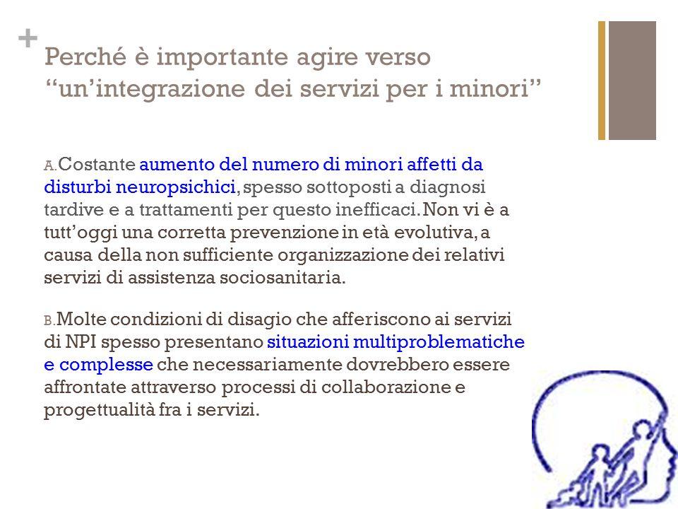 Perché è importante agire verso un'integrazione dei servizi per i minori
