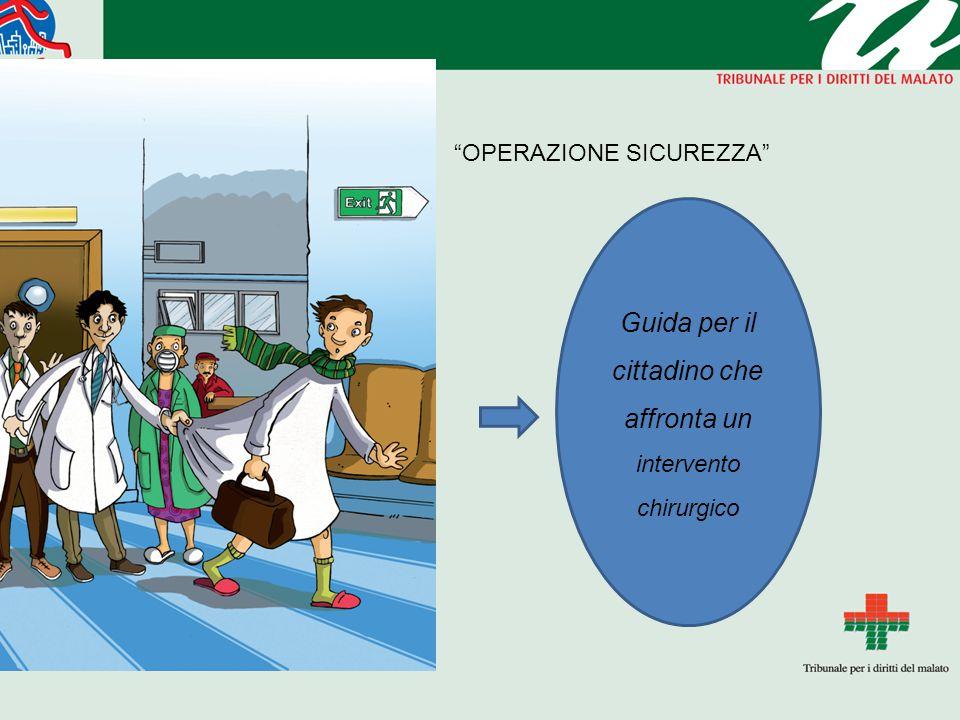 Guida per il cittadino che affronta un intervento chirurgico