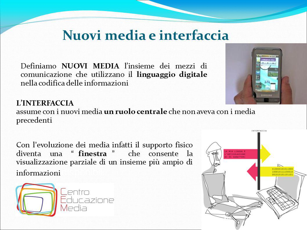 Nuovi media e interfaccia