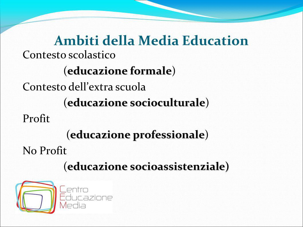 Ambiti della Media Education