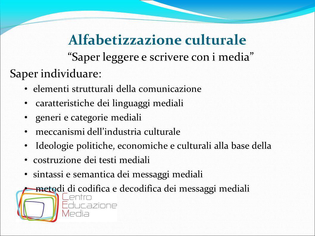 Alfabetizzazione culturale