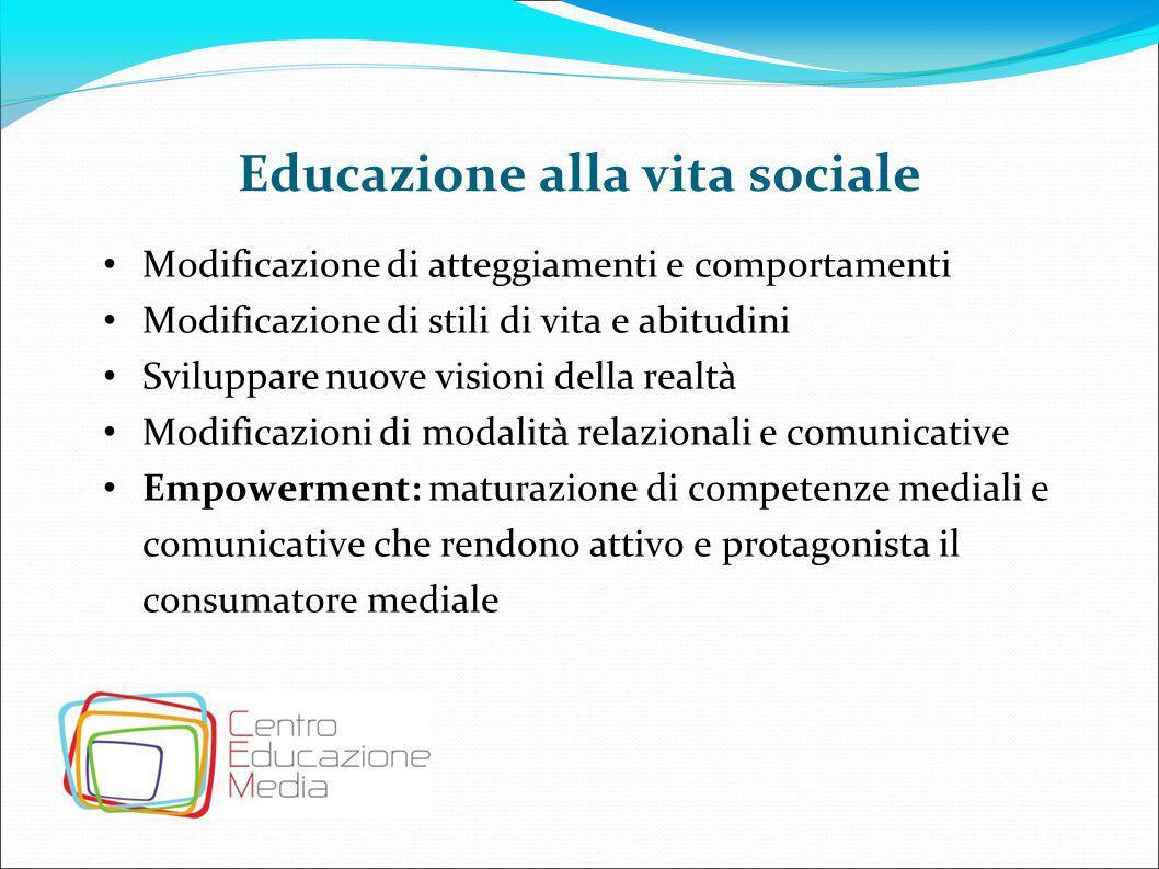Educazione alla vita sociale