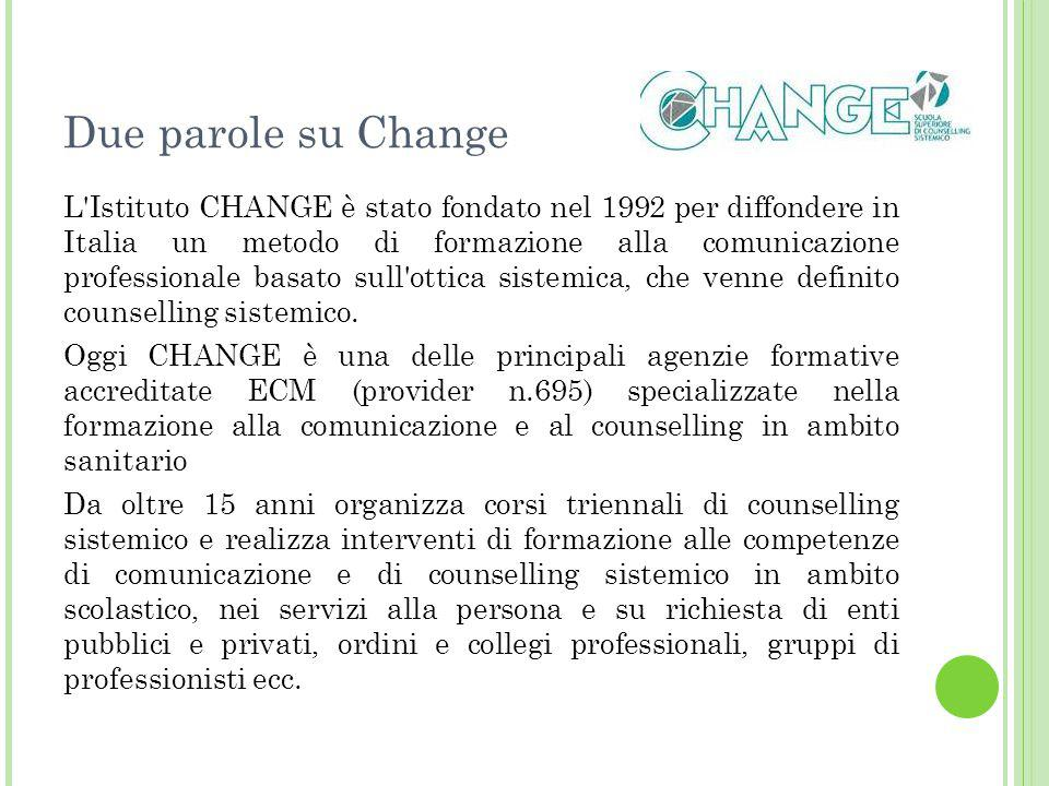Due parole su Change