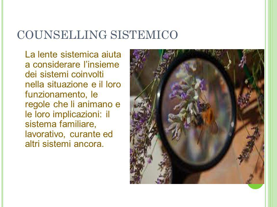 COUNSELLING SISTEMICO