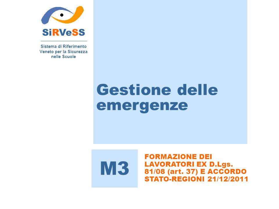 Sistema di Riferimento Veneto per la Sicurezza nelle Scuole