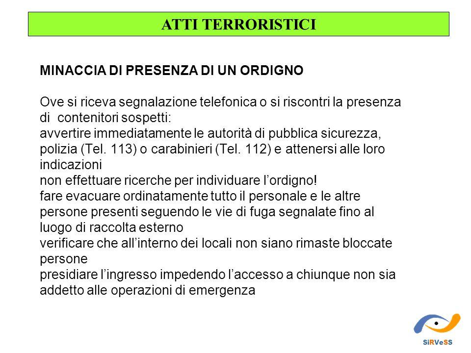 ATTI TERRORISTICI