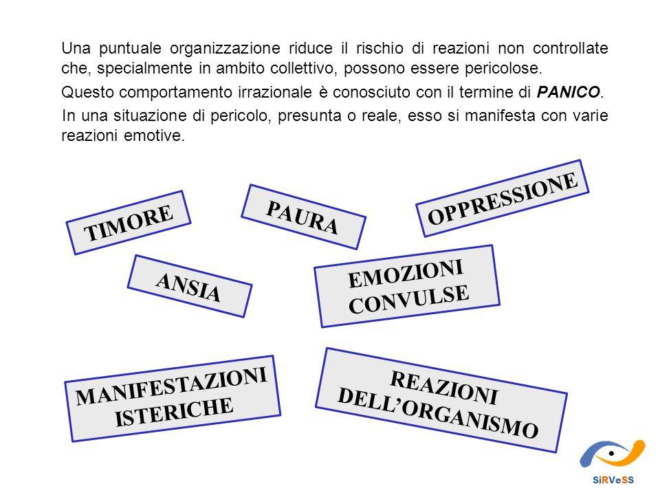 MANIFESTAZIONI ISTERICHE REAZIONI DELL'ORGANISMO