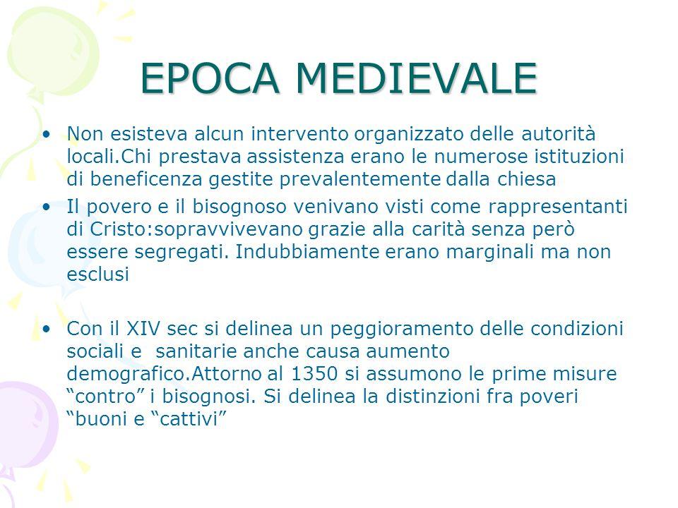 EPOCA MEDIEVALE