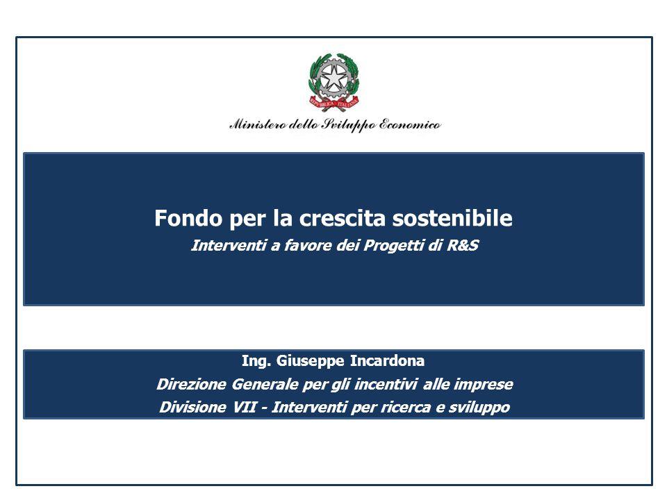 Fondo per la crescita sostenibile