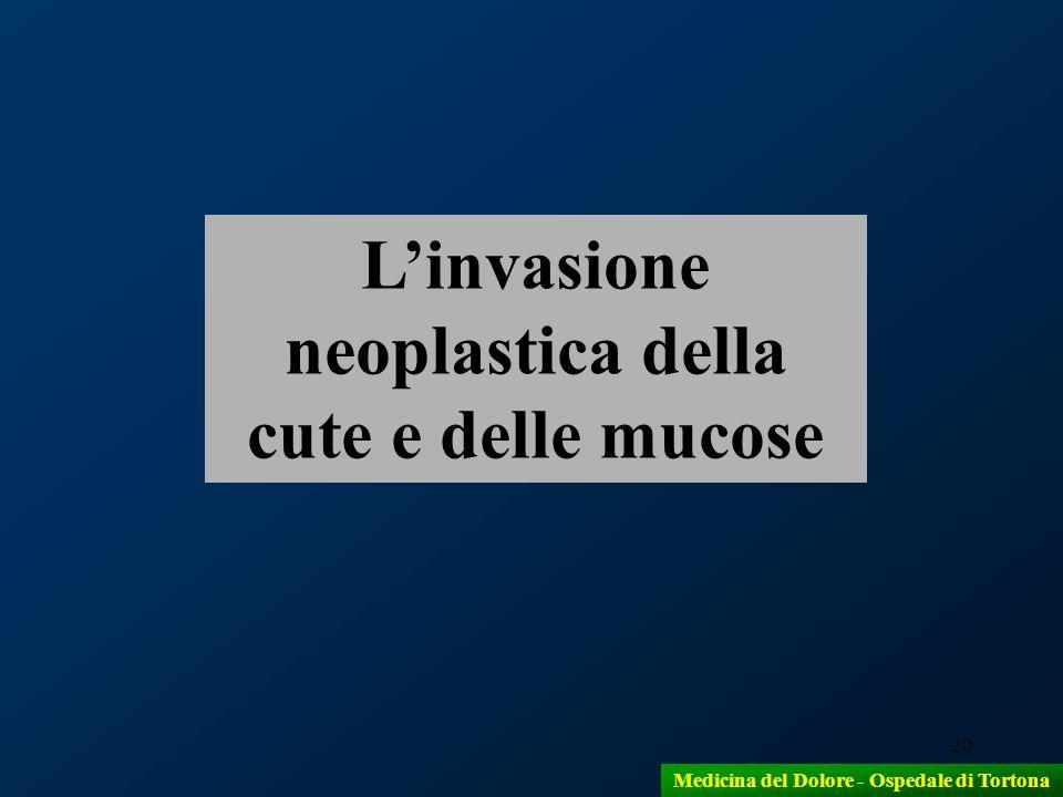 L'invasione neoplastica della cute e delle mucose
