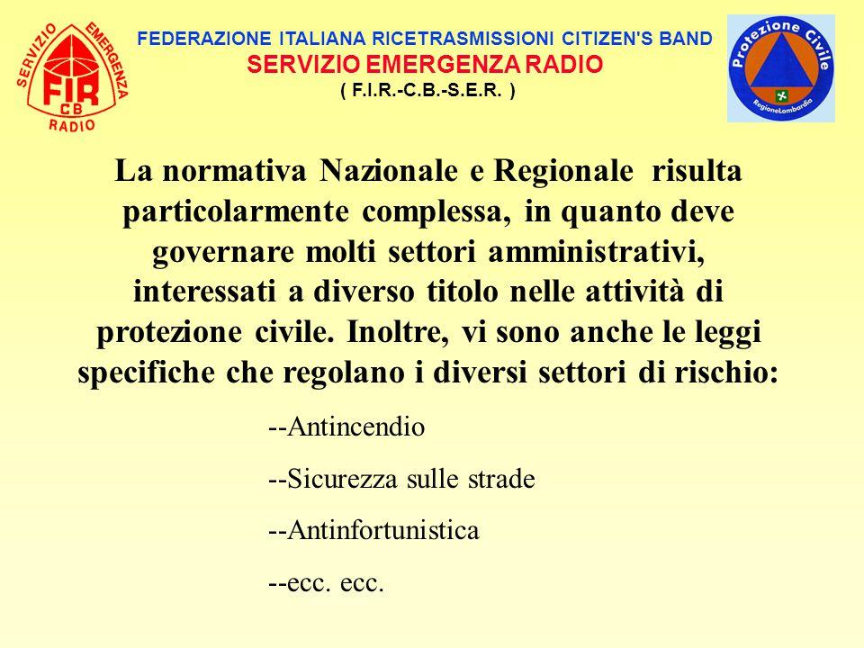 FEDERAZIONE ITALIANA RICETRASMISSIONI CITIZEN S BAND
