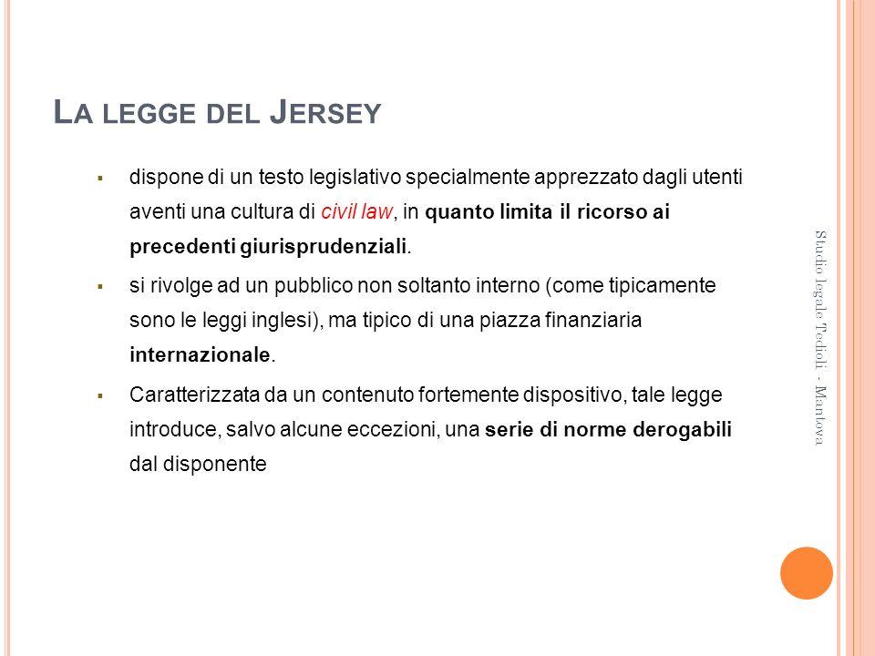 La legge del Jersey