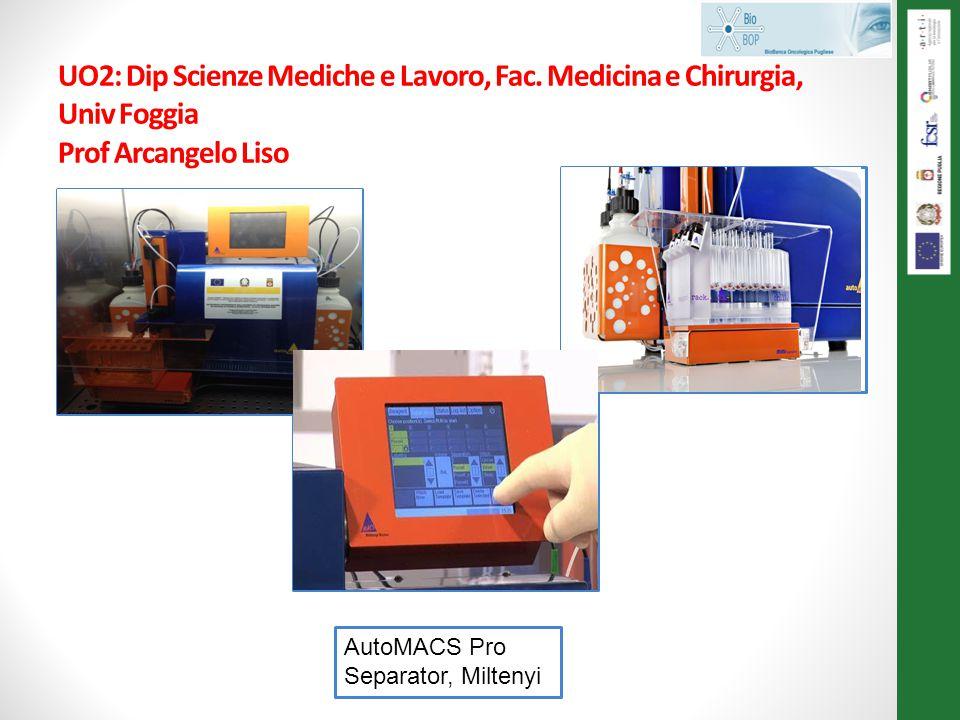 UO2: Dip Scienze Mediche e Lavoro, Fac